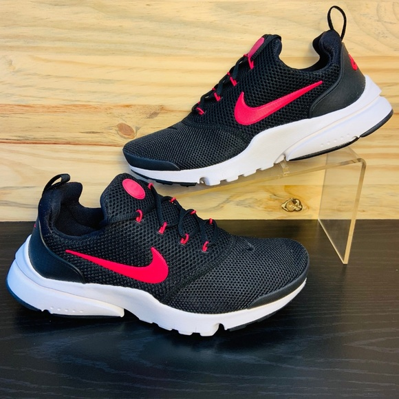 Nike Shoes - New Nike Presto Fly Running Shoes Black Pink Rush